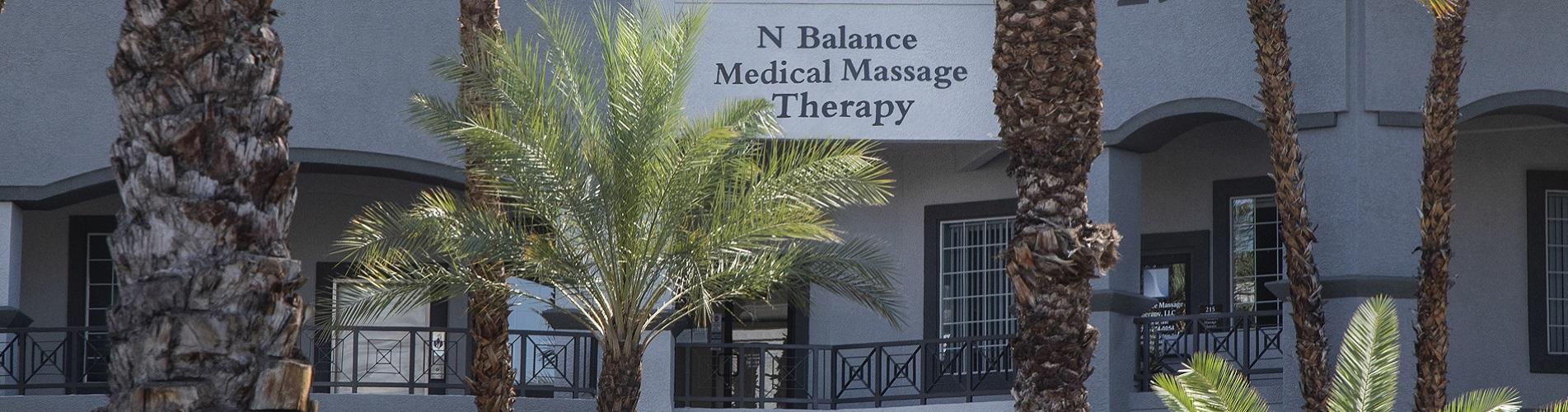 N Balance Outside Building